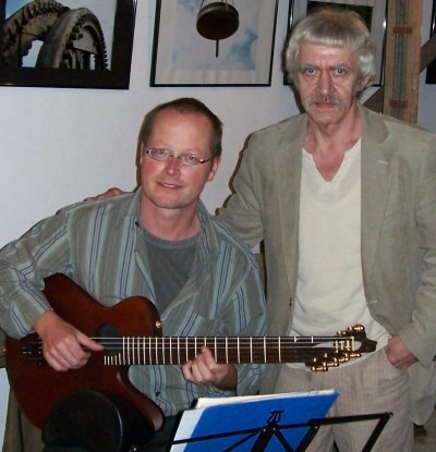Andreas Reimann und Martin Hoepfner
