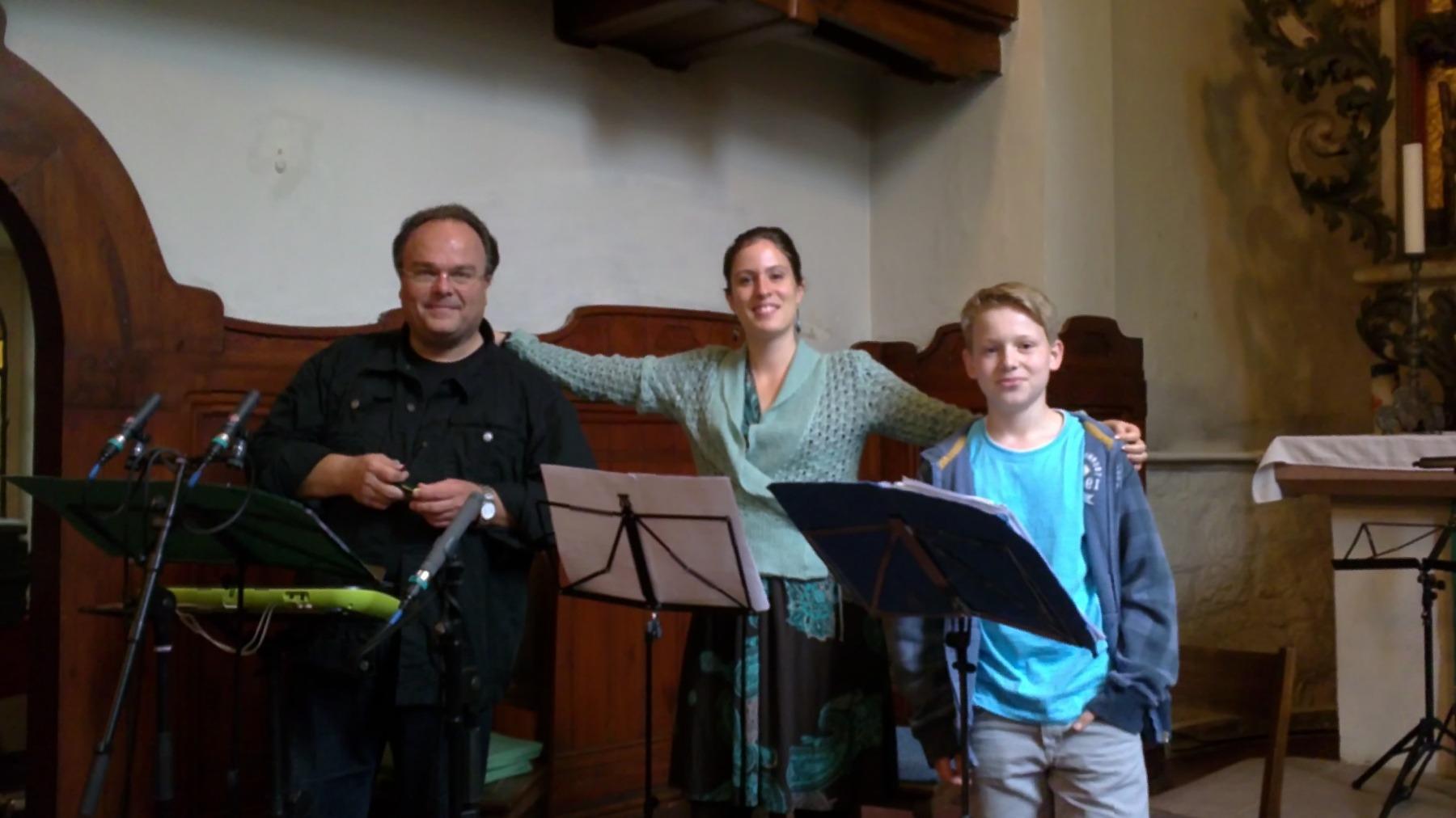 CD-Aufnahme Weihnachten zu Hause in der Gundorfer Kirche 2014