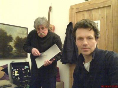 Probe mit Dr. Jürgen Kunz und Dr. Matthias Dietsch
