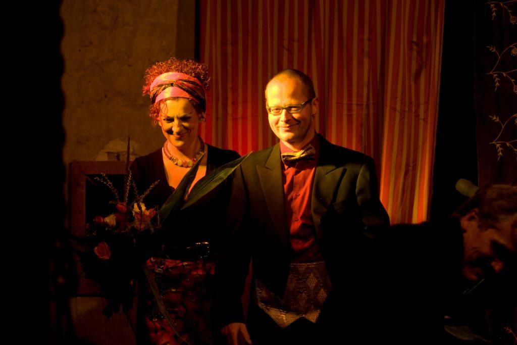 Ines Agnes Krautwurst und Martin Hoepfner