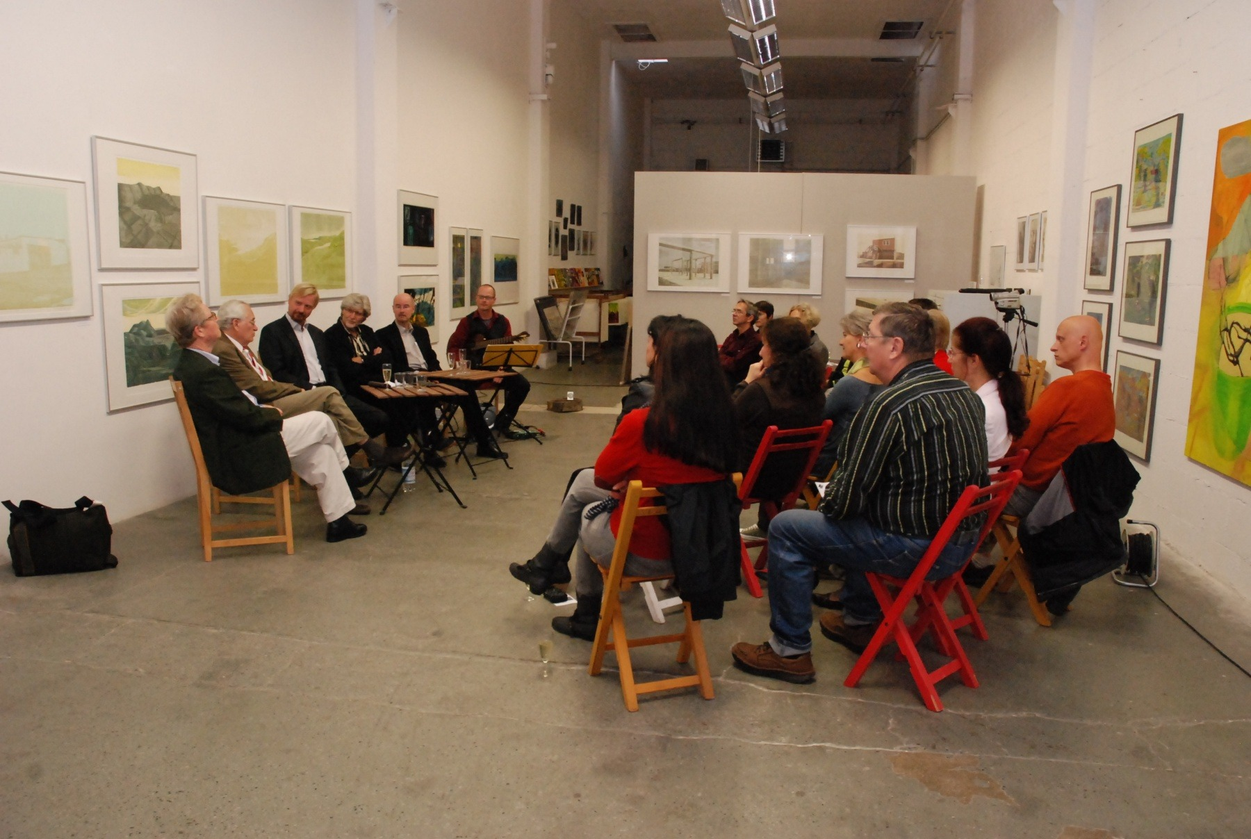 Veranstaltung in der Galerie Hoch und Partner Leipzig