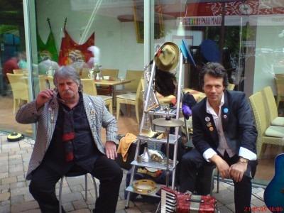 Straßenfest in Leipzig mit den Crazy Doctors