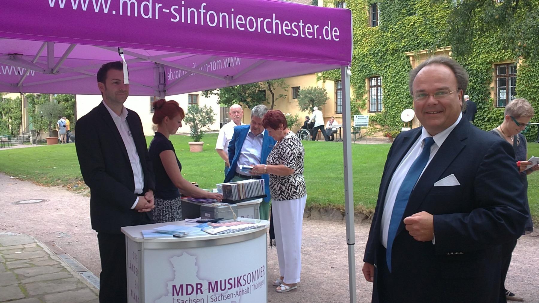 mdr-musiksommer Konzert mit KS Martin Petzold